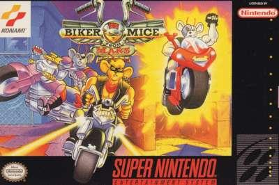 Biker Mice from Mars for Super Nintendo
